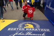 "A man who ran the Boston Marathon in memory of Hillsborough victims tells JMU Journalism of his ""absolute horror"" over the bombings."